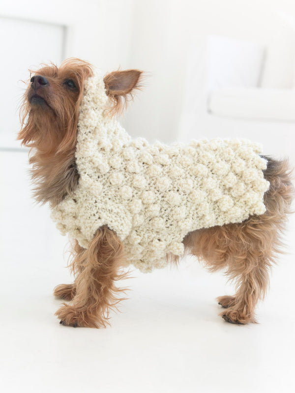 Year Of The Dog Sweater (Crochet)