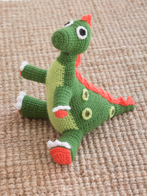 Dotty Dinosaur  (Crochet)
