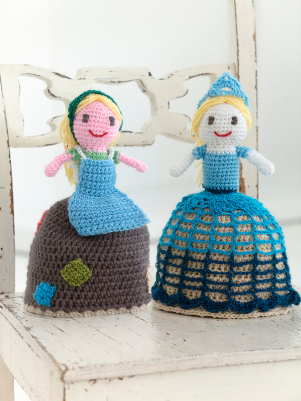Topsy Turvy Princess Doll (Crochet)