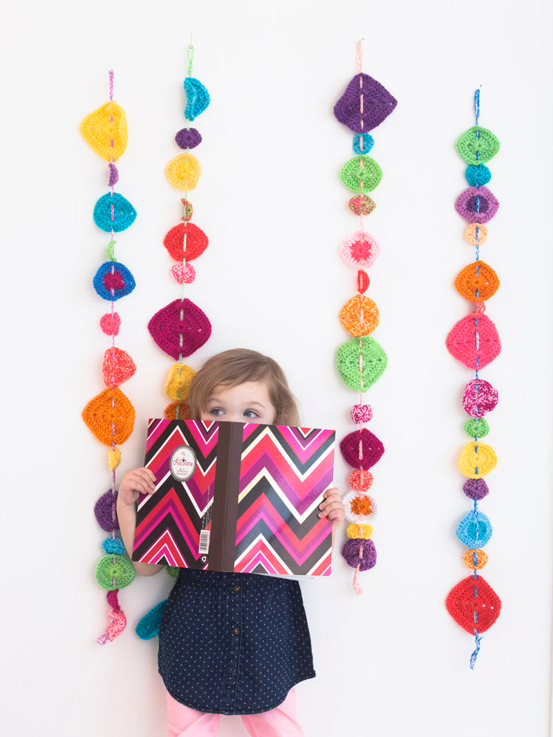 Pop Of Color Garland (Crochet)