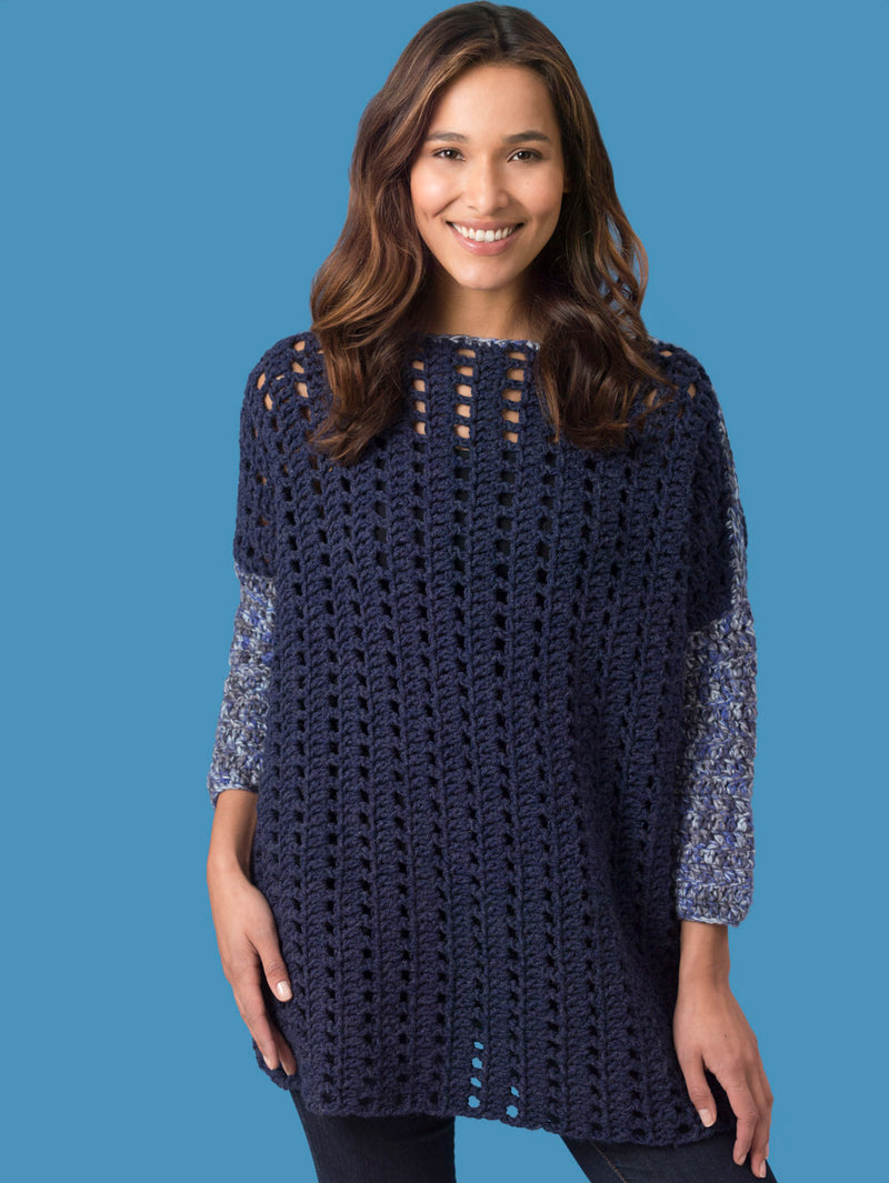 Level 2 - Easy Crochet Pullover