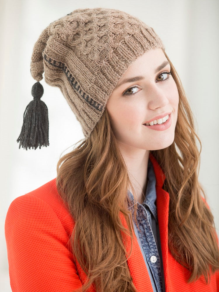 Folk Fusion Hat (Knit)