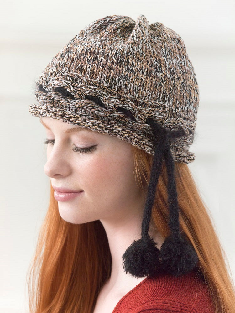 Miss Fisher's Cloche Hat (Knit)