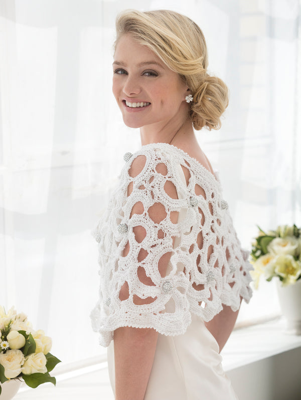 Wedding Capelet (Crochet)