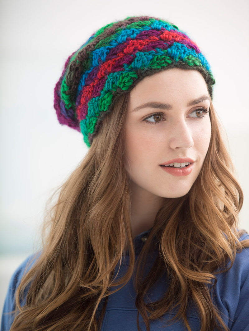 Crosshatch Hat (Crochet)