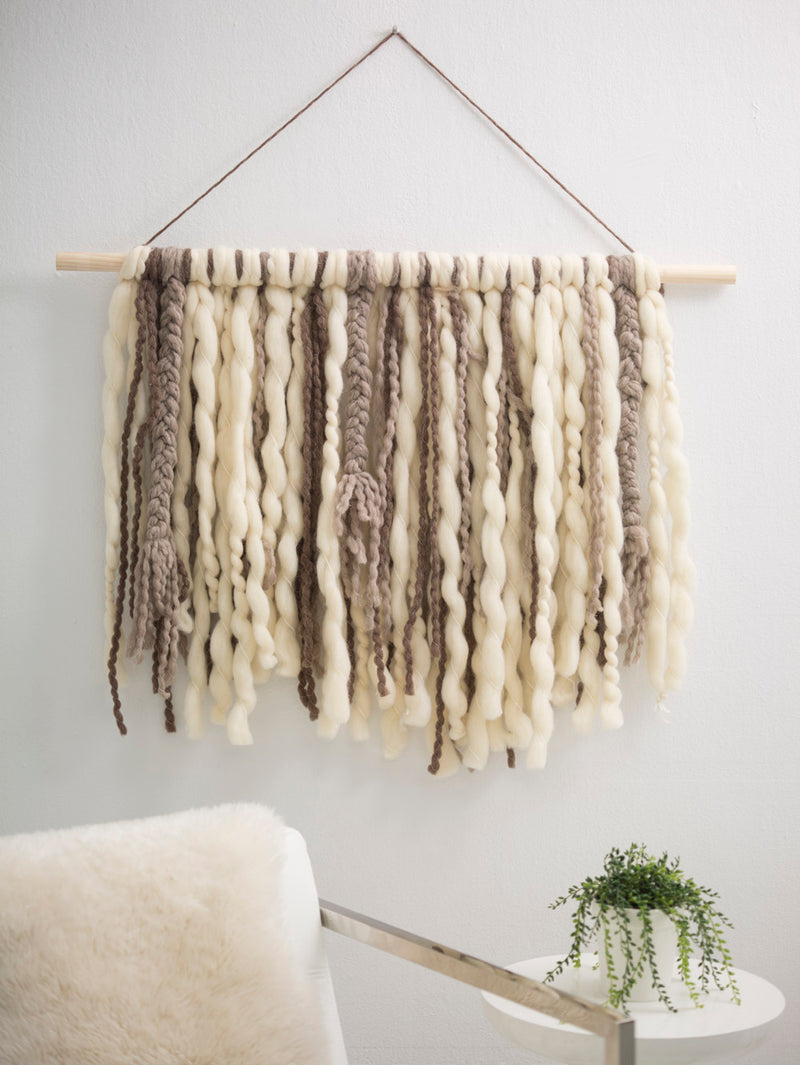 Braided Fringe Wall Hanging (Other)