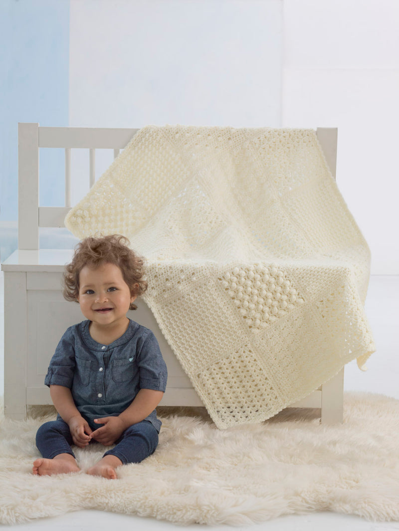 Heirloom Sampler Baby Afghan (Crochet)