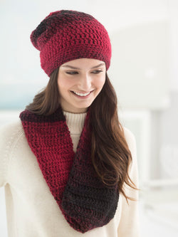 Effortless Hat And Cowl (Crochet)