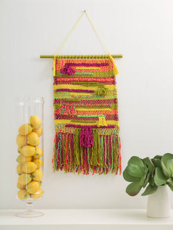 Loom Woven Heat Wave Wall Hanging (Weave)