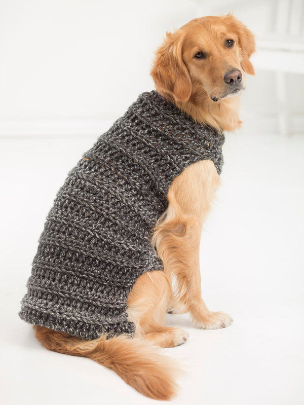 Marley Dog Sweater (Crochet)