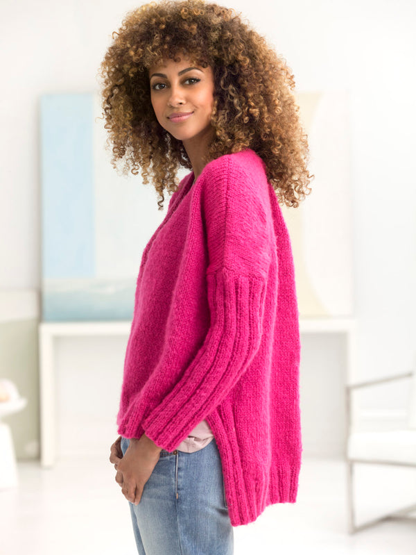Deerfield V-Neck Pullover (Knit)
