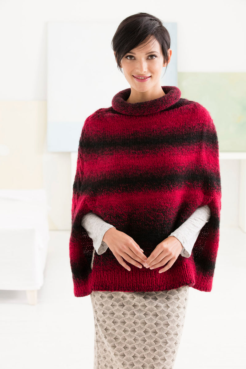 Rosewood Poncho (Knit)