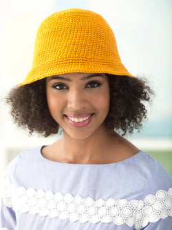 Destin Beach Sun Hat (Crochet)