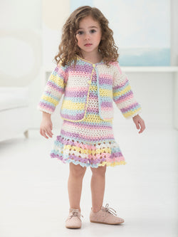 Devonshire Dress And Cardi (Crochet)