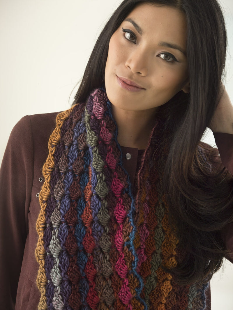 Tilted Blocks Cowl (Crochet)