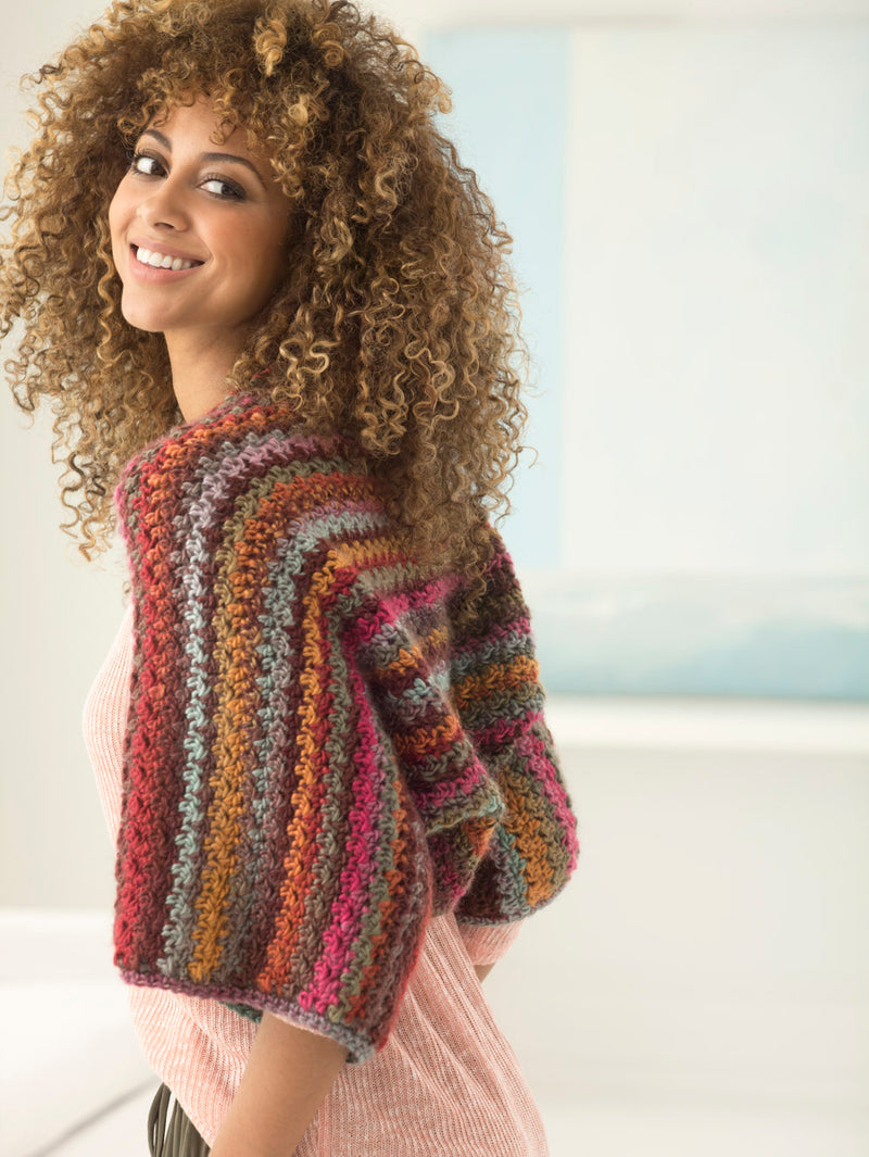 Sunset Shrug (Crochet)