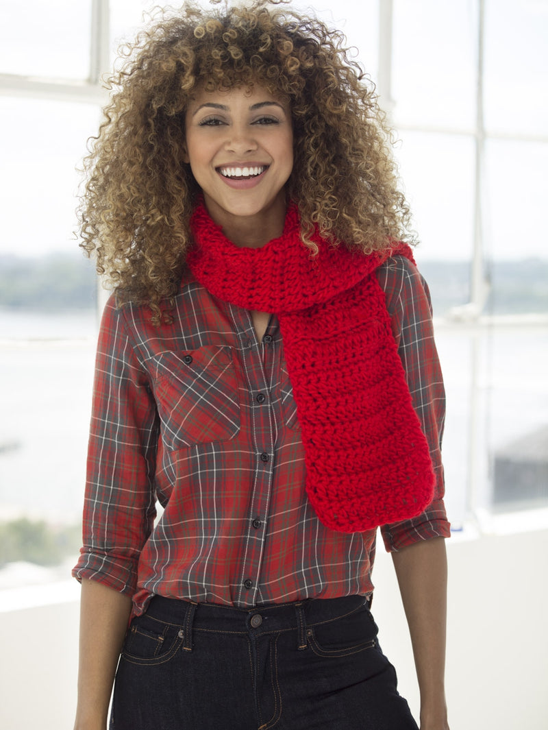 One & Done Kits - Hot Tamale Crochet Scarf