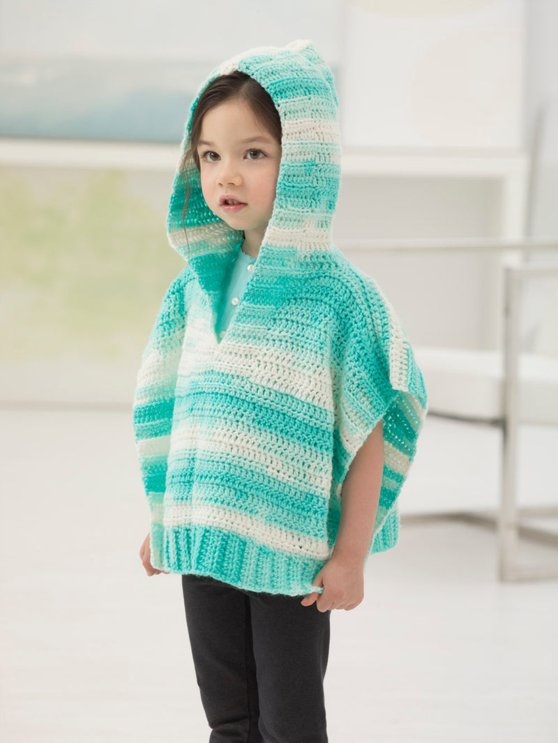 Easy Layering Poncho (Crochet)