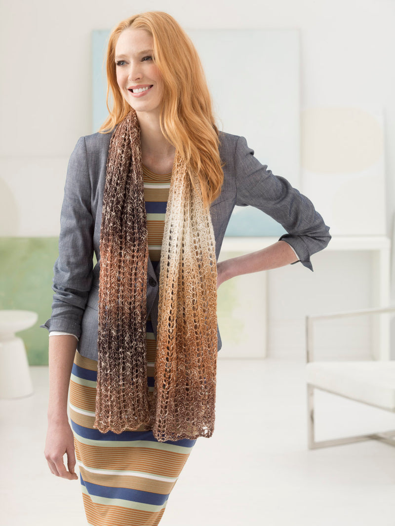 Breath of Glitter Shawl (Knit)