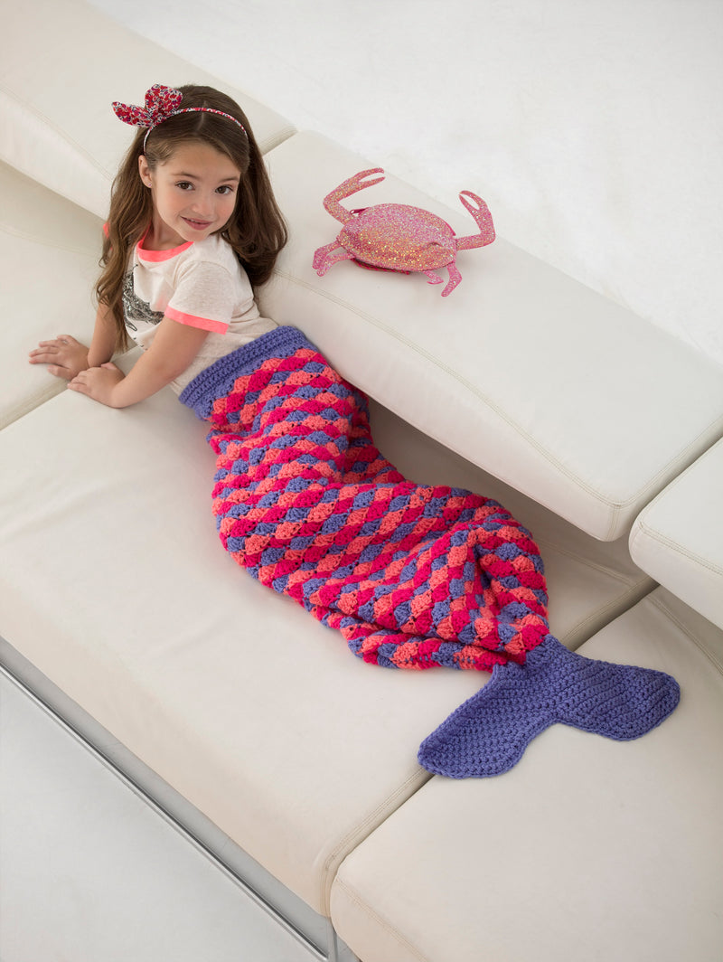 Mini Mermaid Tail (Crochet)