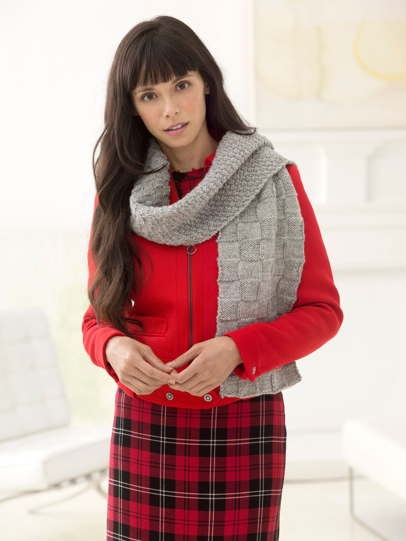 Checkmate Scarf (Knit)
