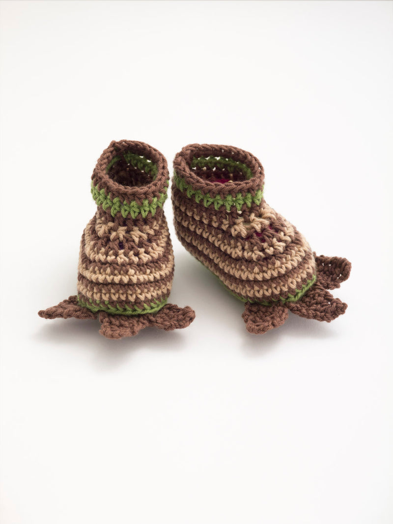 Little Monster Booties (Crochet)