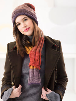 Hat And Scarf Set (Knit)