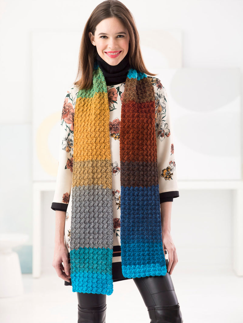 One Ball Scarf (Crochet)