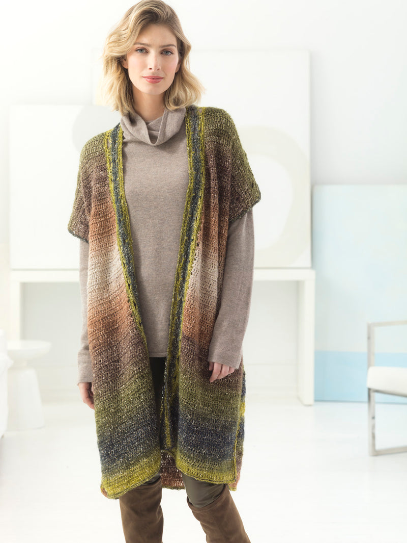 Long Luxe Cardigan (Crochet)