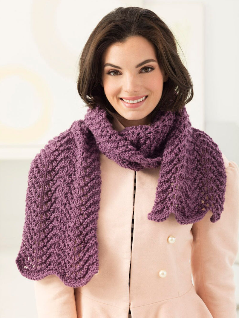Lacy Scarf (Knit)