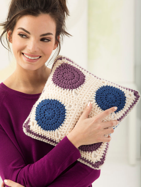 Crochet Motif Pillow
