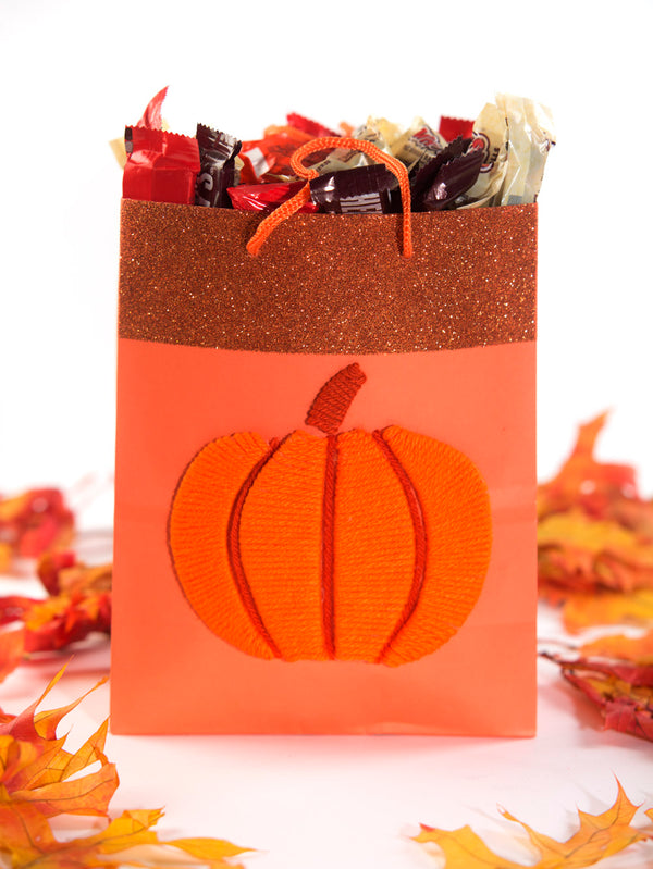 Pumpkin Gift Bag (Crafts)