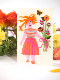 Flower Girl Card (Crafts)
