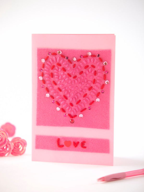Crafted Love Card (Crafts)