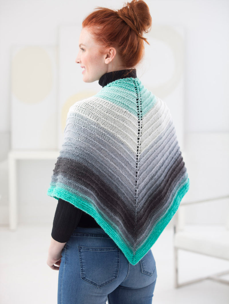 Eyelet Triangle Shawl (Knit)