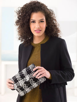 Michael's Discover Class Woven Clutch (Knit)