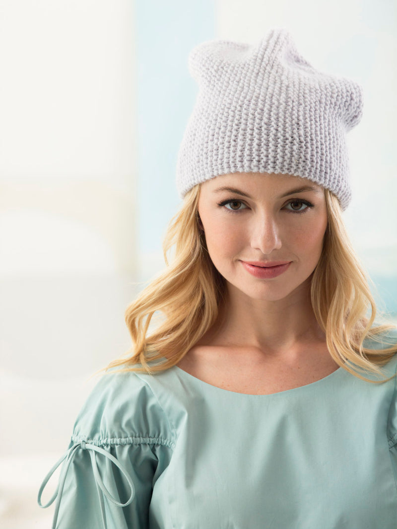 Easy Shaped Hat (Knit)