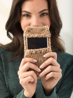 Kitty Smartphone Cover (Knit)