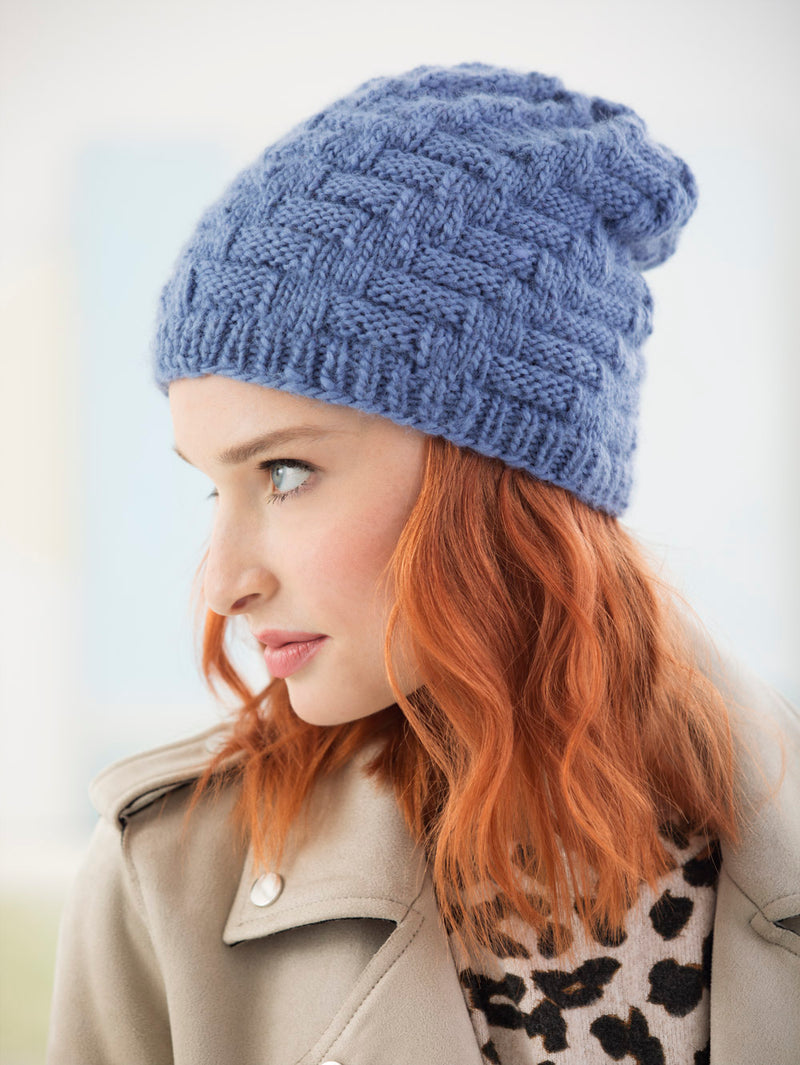Virtual Cable Hat (Knit)