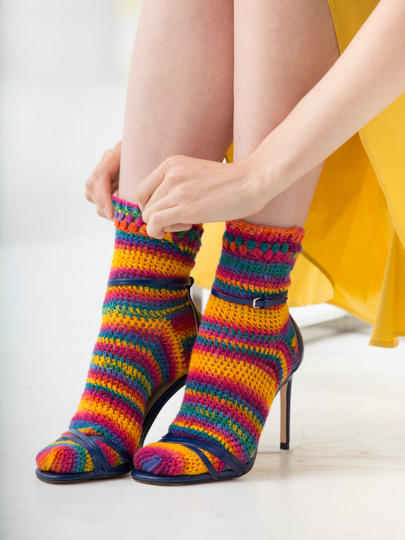Simple Crochet Socks
