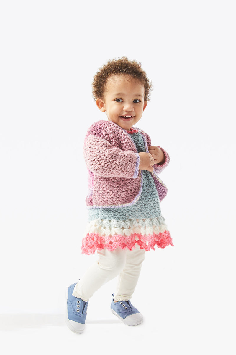 Tea Party Dress and Cardi (Crochet)