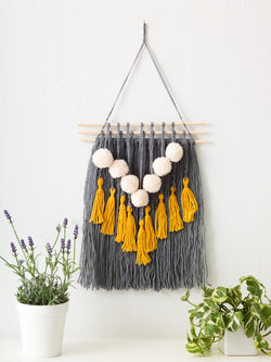Pom-Pom & Tassel Wall Hanging (Crafts)