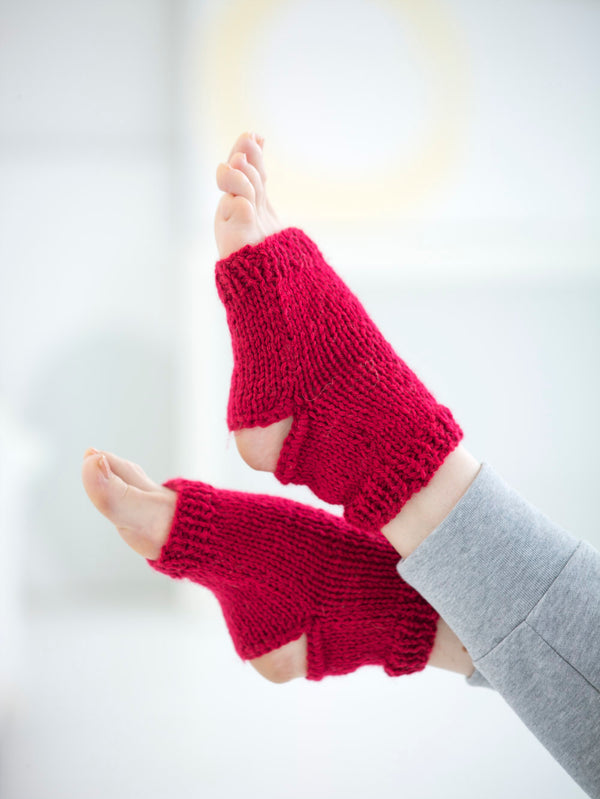 Stirrup Socks (Knit-Crochet)