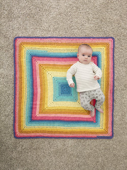 Whitby Baby Afghan (Crochet)