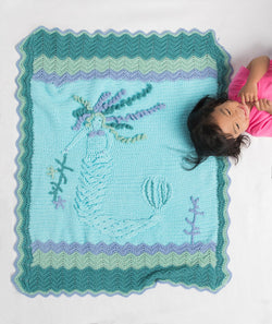 Mermaid Afghan (Crochet)