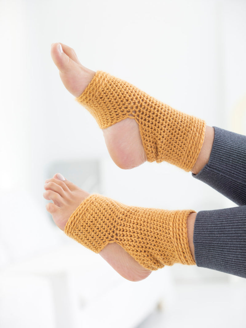 Mellow Yoga Socks (Crochet)