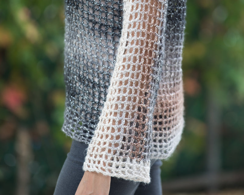 Crochet Kit - Night Lights Sweater