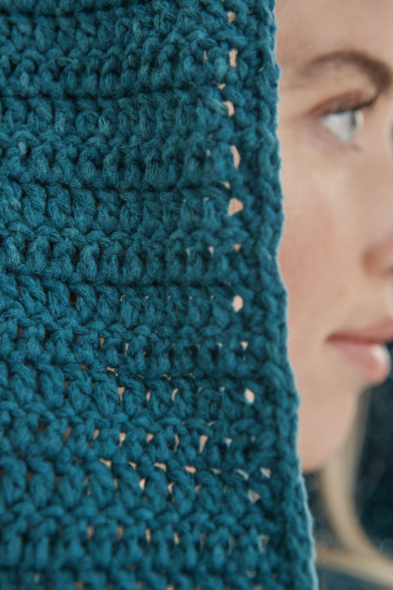 Waterloo Hooded Cowl (Crochet)