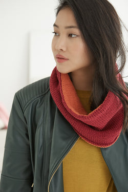 Two-sided Cowl (Knit)