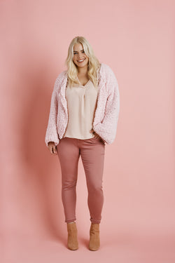 Pink Happens Cardigan (Knit)